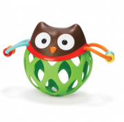 Chocalho infantil Roll Around Skip Hop - Coruja