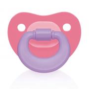 Chupeta Colors Rosa Ortoflex - Multikids Baby