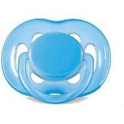 Chupeta Freeflow Philips Avent - Azul 6-18 meses
