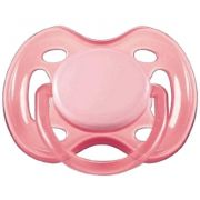 Chupeta Freeflow Philips Avent - Rosa 6-18 meses