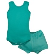 Conjunto Body Bebê Regatinha e Shorts Tiffany - Baby Duck