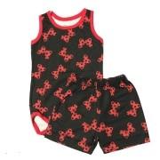 Conjunto Body e Shorts Lacinhos - Bebê Brincalhão