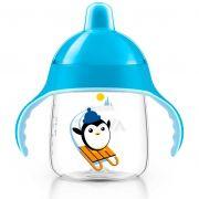 Copo Pinguim Philips Avent - 260ml - Azul