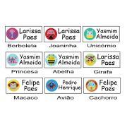 Etiqueta Vinil Escolar Personalizada Linha Especial - Baby