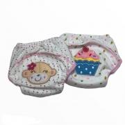 Kit Calcinha Treinamento Desfralde 2unds Cupcake - Baby