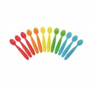 Kit com 12 Colheres Coloridas - Girotondo