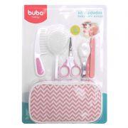 Kit de Higiene Rosa para bebê - Buba Baby