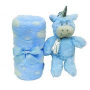 kit presente Unicórnio Azul - Buba Baby