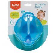 Kit Refeição Baby Azul - Buba Baby