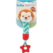 Mordedor com Buzina Animal Fun Macaco - Buba Baby