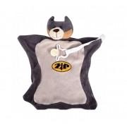 Naninha Com Carinha e Prendedor de Chupeta Super Bat - Zip Toys