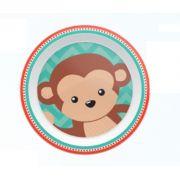 Pratinho Animal Fun Macaco - Buba Baby