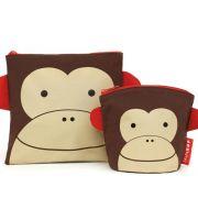 Saquinhos para Lanche  Skip Hop Zoo Macaco