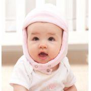 Touca em Malha Infantil Rosa - Zip Toys