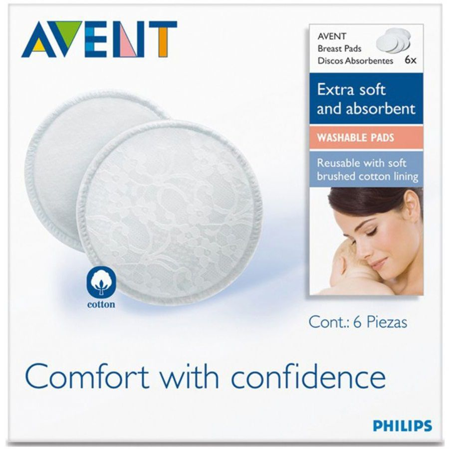 Absorventes Laváveis para os Seios - Philips Avent