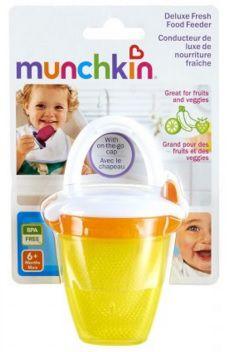 Alimentador com tampa - Munchkin - Amarelo