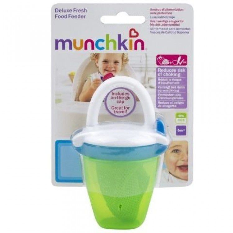 Alimentador com tampa - Munchkin - Verde