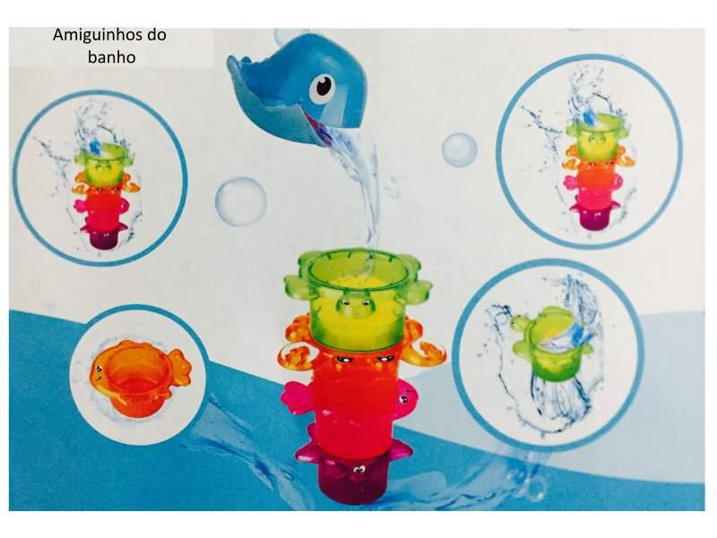 Amiguinhos do banho 5pçs - Buba Baby