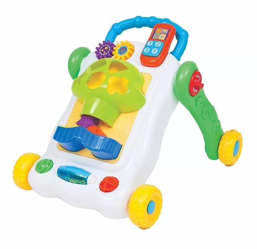 Andador Atividades Divertido - Buba Baby