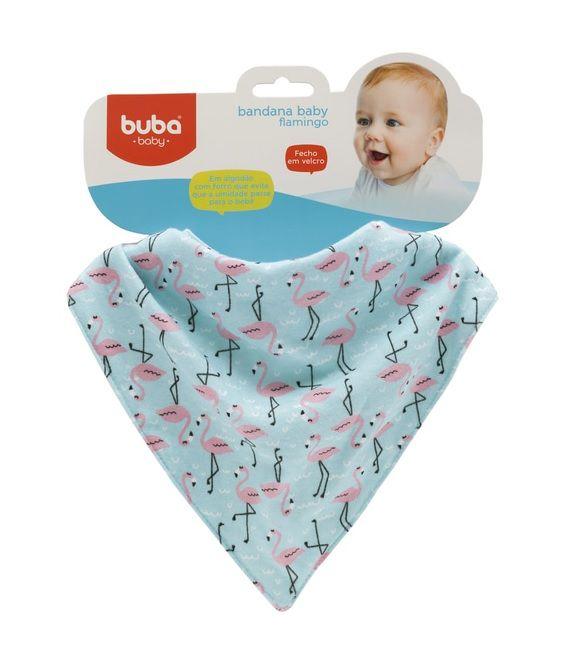 Babador Bandana Flamingo - Buba Baby