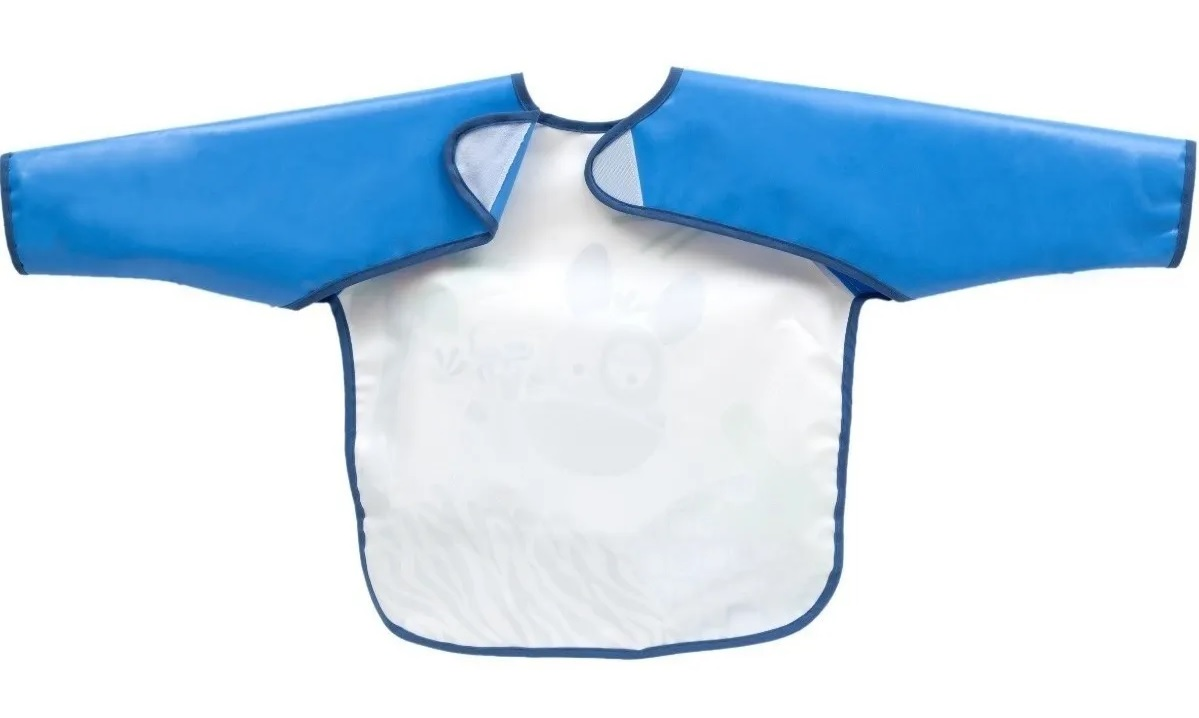 Babador BLW Impermeável Azul - Buba Baby