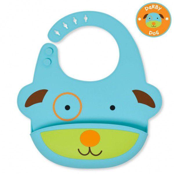 Babador de Silicone Zoo Skip Hop - Cachorro