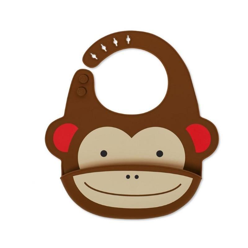 Babador de Silicone Zoo Skip Hop - Macaco