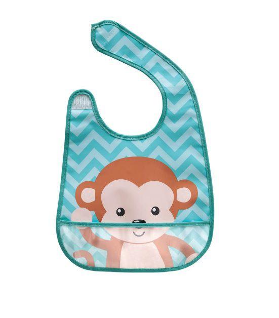 Babador Impermeável Macaco - Buba Baby