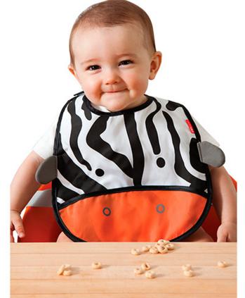 Babador Skip Hop - Zoo Zebra