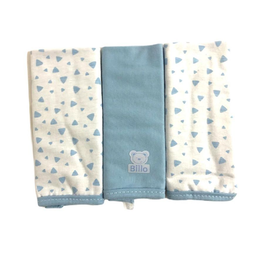 Babetes Paninho de Boca Billo Azul - Minasrey