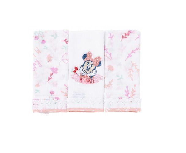 Babetes Paninhos de Boca Disney Baby Minnie - Minasrey