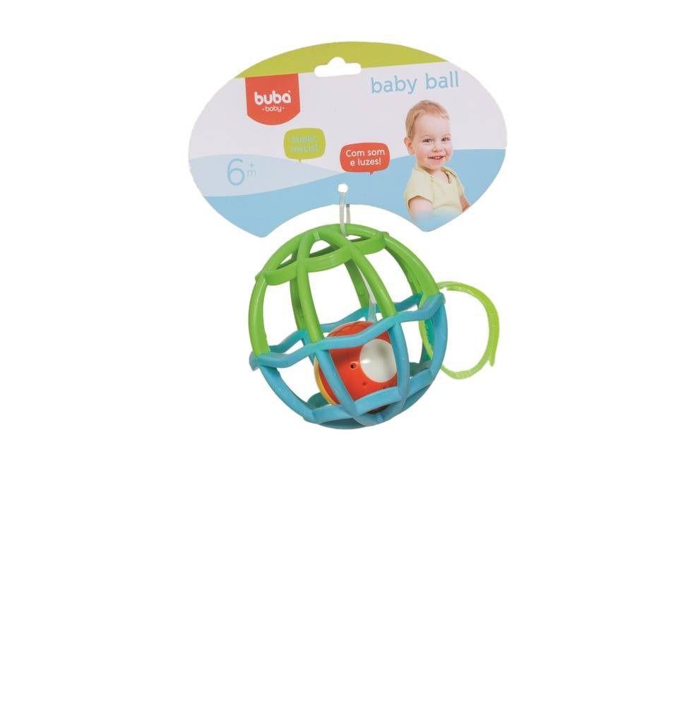 Baby Ball Azul com Verde - Buba Baby