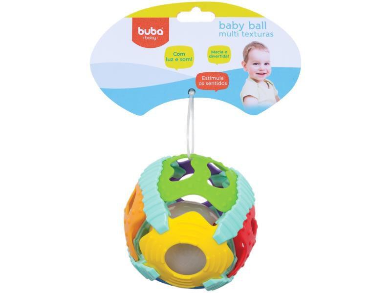 Baby Ball Multi Textura Azul - Buba Baby