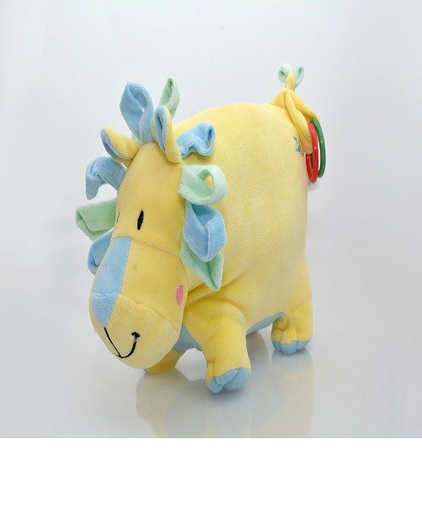 Baby Leão com Argolas -  Zip Toys Amarelo