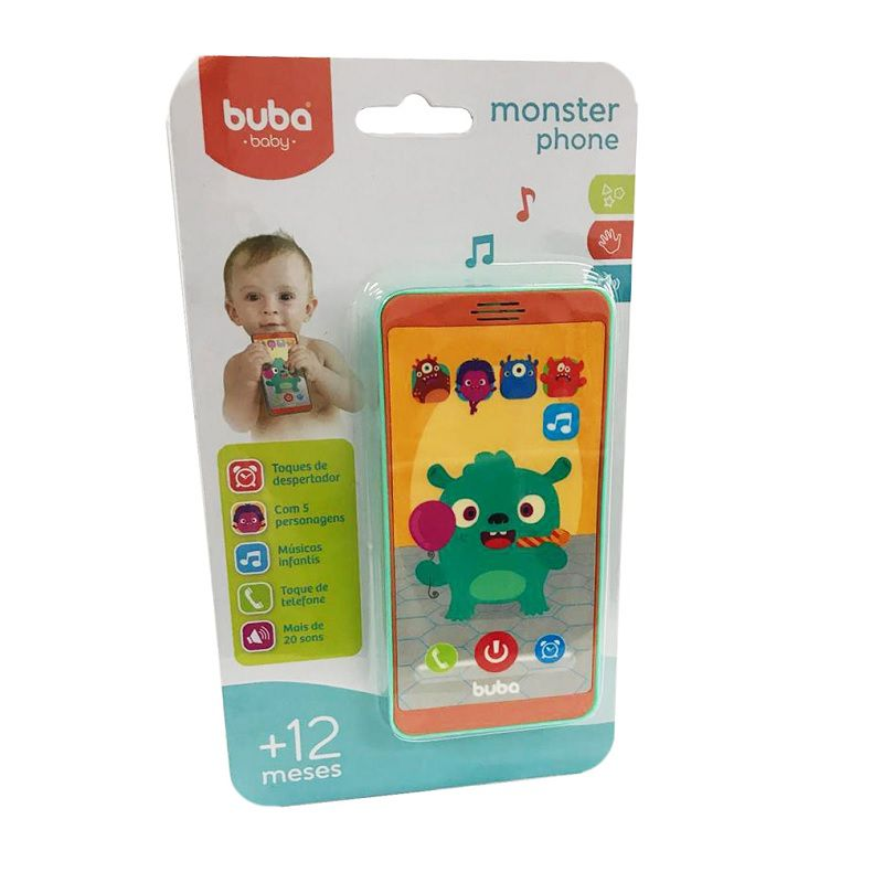 Baby Phone Monster - Buba Baby