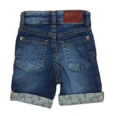 Bermuda Jeans com Barra - Din Don