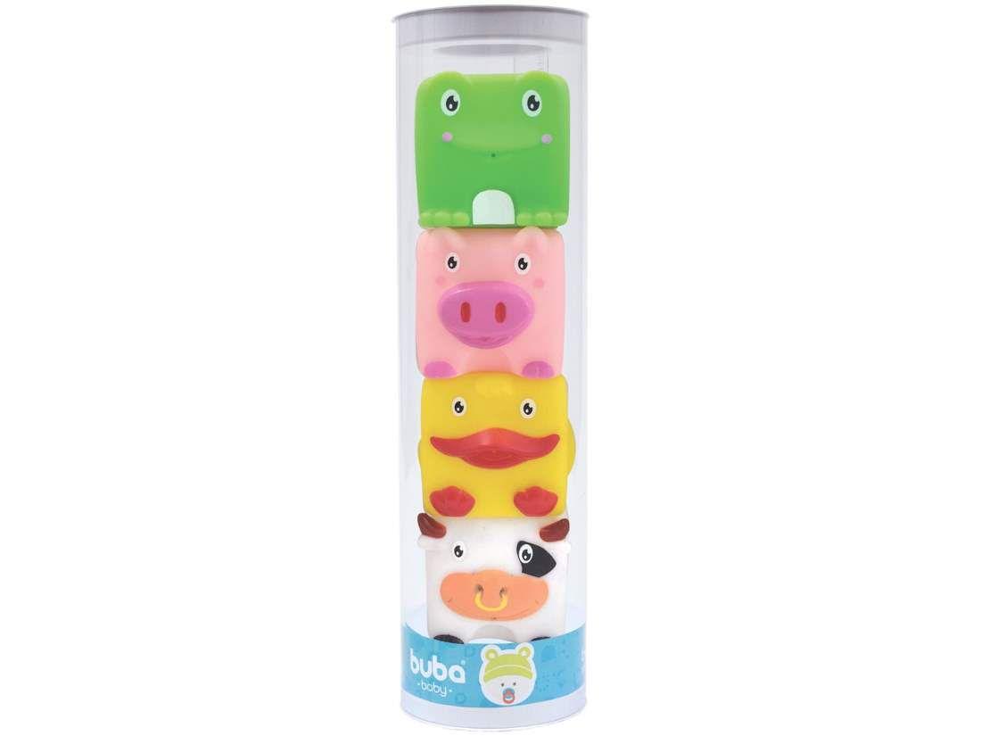 Bichinhos de banho empilháveis - Buba Baby