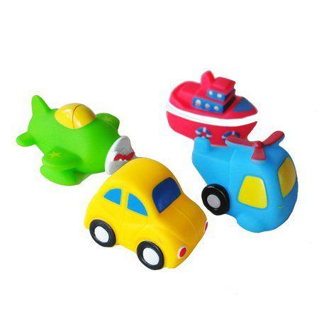 Bichinhos de banho transportes - Buba Baby