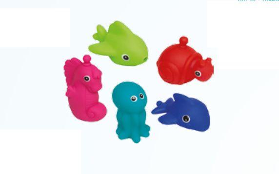 Bichinhos para Banho 5 Unds - Buba Baby