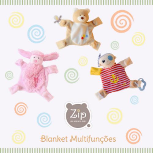 Blanket Multifunções Cachorrinha Lili - Zip Toys