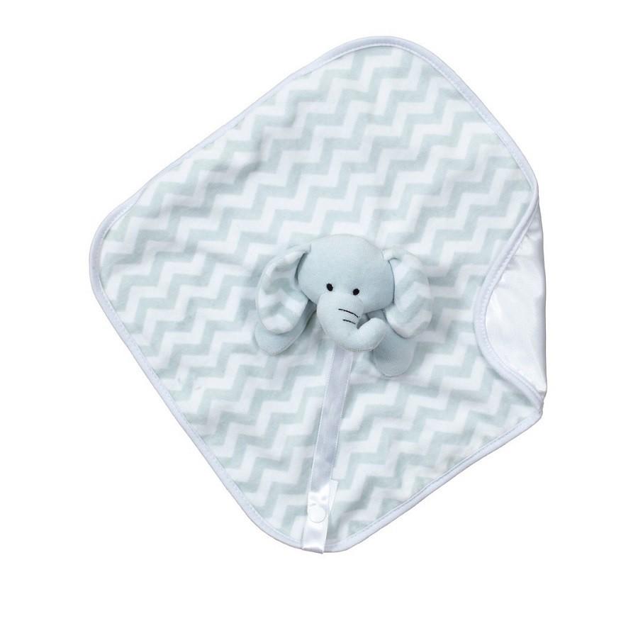 Blanket Naninha Cetim Elefante Lelo - Zip Toys