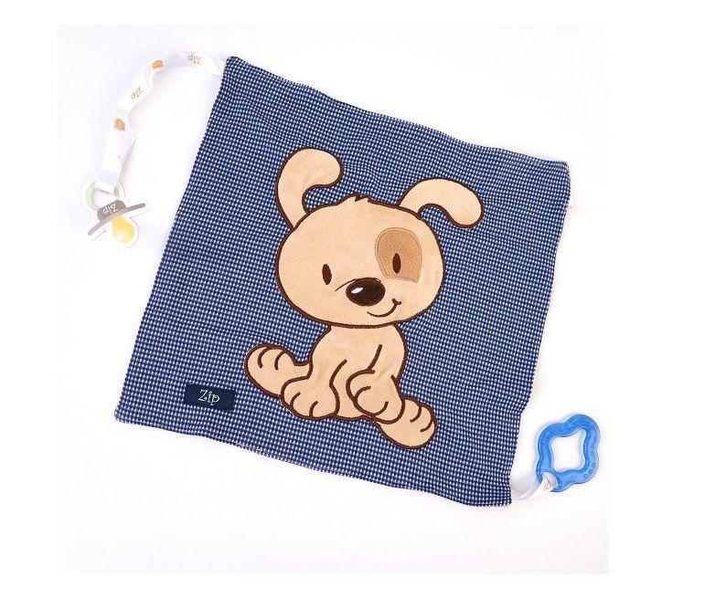 Blanket Naninha com mordedor Cachorro Totó - Zip Toys