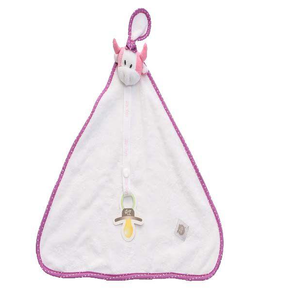 Blanket Naninha Vaca Brenda - Zip Toys