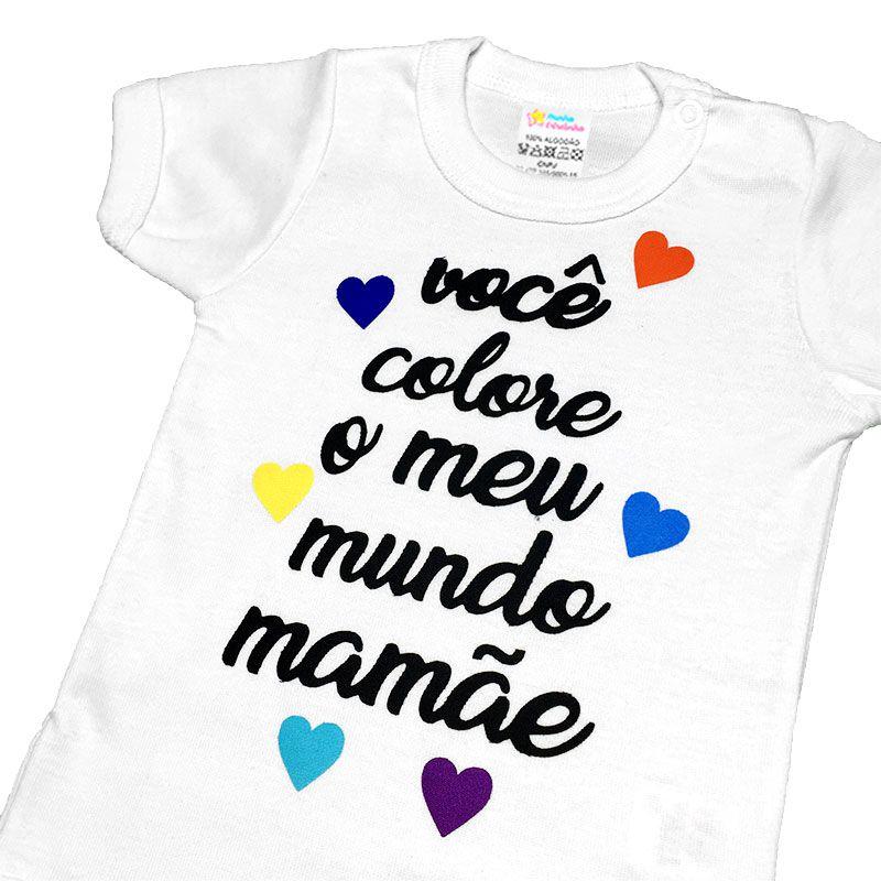 Body Mamãe Colore - Minha estrelinha