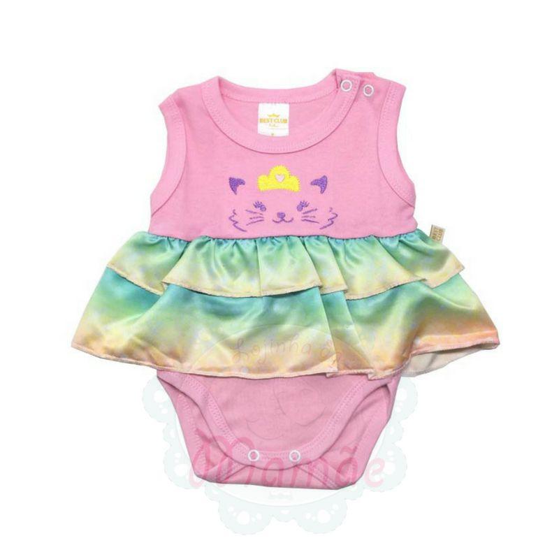 Body Saia Best Club Baby - Gatinha