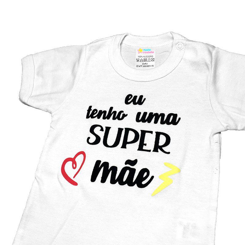 Body Super Mãe - Minha estrelinha