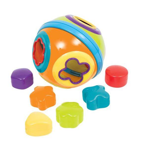 Bola Formas de Encaixe - Buba Baby