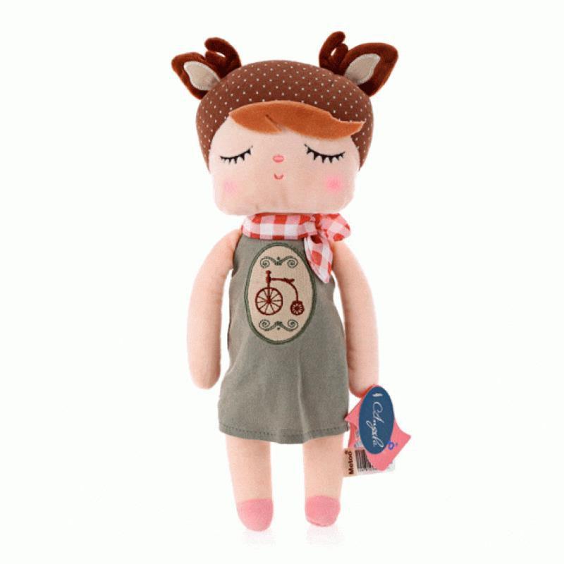Boneca Angela Doceira Retro Marrom - Metoo Doll