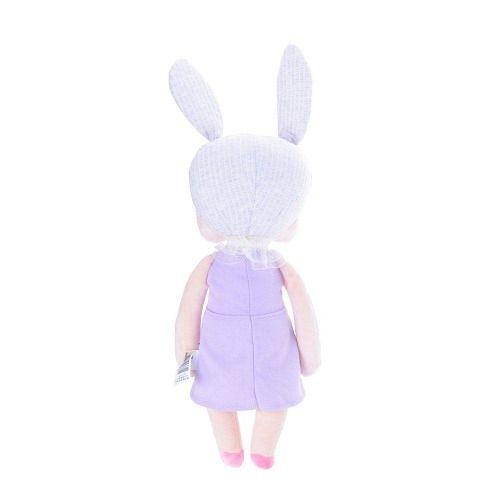 Boneca Angela Jardineira Lilás - Metoo Doll
