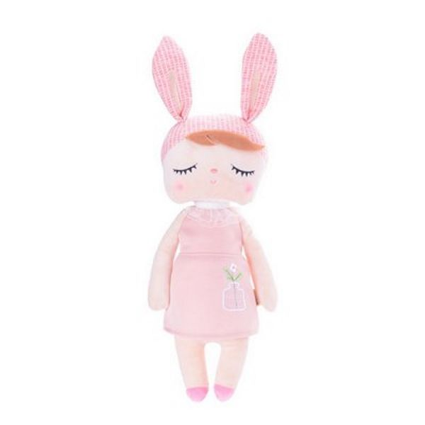 Boneca Angela Jardineira Rosa - Metoo Doll